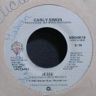 CARLY SIMON~Jesse~Warner Bros. WBS49518 (Soft Rock) VG+ 45
