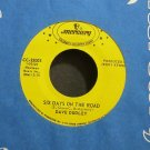 DAVE DUDLEY~Six Days on the Road~Mercury 35003 VG+ 45