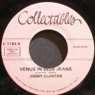 JIMMY CLANTON~Venus in Blue Jeans~Collectibles 1183 (Rock & Roll) VG+ 45