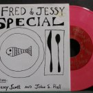 "CASEY SCOTT & JOHN S. HALL~The Fred & Jessy Special~Vital Music 11 (Indie Rock) VG++ 7"" 33  EP"