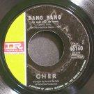 CHER~Bang Bang (My Baby Shot Me Down)~IMPERIAL 66160 (Rock)  45