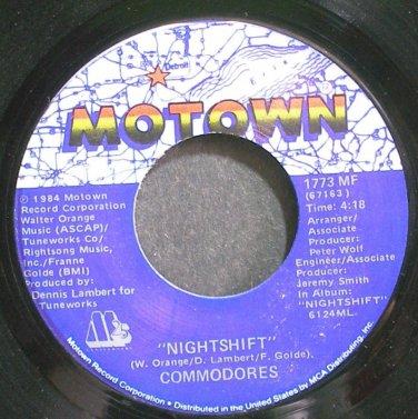 COMMODORES~Nightshift~Motown 1773 MF (Soul) VG++ 45