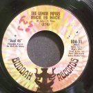 THE LEMON PIPERS~Rice is Nice~Buddah 31 (Psych)  45