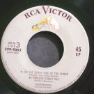 LIONEL HAMPTON~On the Sunny Side Of the Street~RCA Victor 599-9065 (Ragtime)  45 EP