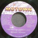 MICHAEL JACKSON~Farewell My Summer Love~Motown 1739 MF (Synth-Pop) VG++ 45