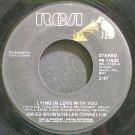 JIM ED BROWN & HELEN CORNELIUS~Lying in Love with You~RCA 11532  45