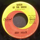 JODY MILLER~Queen of the House~Capitol 5402  45