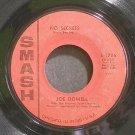 JOE DOWELL~No Secrets~Smash 1786  45