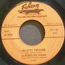 ALEGRES DE TERAN~Jacinto Trevino~Falcon 1647 VG+ 45