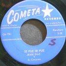 JESSE DIAZ~Se Fue Se Fue~Cometa 136 VG+ 45