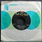 KATYNA RANIERI~Forget Domani~MGM K13343 (Jazz Vocals) Rare VG++ 45