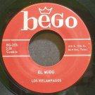 LOS RELAMPAGOS~El Mudo~Bego 233 Rare VG++ 45