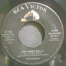 THE BROWNS~The Three Bells~RCA Victor 7555 VG+ 45