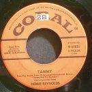 DEBBIE REYNOLDS~Tammy~Coral 61851 1st VG+ 45