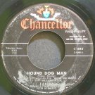 FABIAN~Hound Dog Man~Chancellor 1044 (Rock & Roll) Rare 45