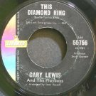 GARY LEWIS~This Diamond Ring~Liberty 55756 (Soft Rock)  45