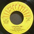 THE GENTRYS~Cinnamon Girl~Sun Record Company 1114 (Garage Rock)  45
