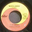 GLEN CAMPBELL~Wichita Lineman~Capitol 2302 VG+ 45