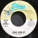 GUY MITCHELL~Irene Good-By~Starday 828 VG+ 45