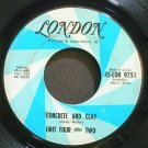 UNIT FOUR PLUS TWO~Concrete and Clay~London 9751 (Soft Rock)  45