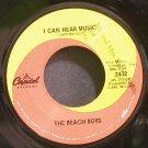 BEACH BOYS~I Can Hear Music~Capitol 2432 (Surf Rock)  45