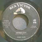 BOBBY BARE~Detroit City~RCA Victor 8183  45