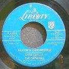 DAVID SEVILLE~Alvin's Orchestra~Liberty 55233 (Children)  45