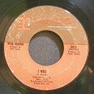 DEAN MARTIN~I Will~Reprise 0415 (Jazz Vocals)  45