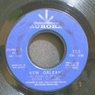 EDDIE HODGES~New Orleans~Aurora 153 (Rock & Roll)  45
