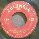 JOHNNY MATHIS~Will I Find My Love Today~Columbia 10281  45 EP