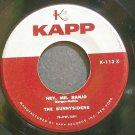 SUNNYSIDERS~Hey, Mr. Banjo~Kapp 113X (Jazz Vocals)  45