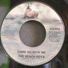 BEACH BOYS~Come Go with Me~Caribou 02633 (Surf Rock)  45