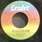BRIAN HYLAND~Itsy Bitsy Teenie Weenie Yellow Polkadot Bikini~Leader 805 (Rock & Roll)  45