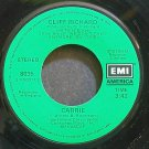 CLIFF RICHARD~Carrie~EMI America 8035 (Rock & Roll) VG+ 45