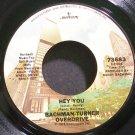 BACHMAN-TURNER OVERDRIVE~Hey You~Mercury 73683 (Classic Rock) VG+ 45