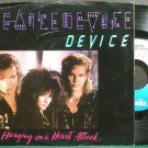 DEVICE~Hanging on a Heart Attack~Chrysalis 42996 (Synth-Pop) M- 45