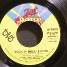 ELECTRIC LIGHT ORCHESTRA~Rock 'N' Roll is King~Jet 03964 (Classic Rock) VG+ 45