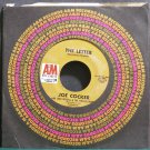 JOE COCKER & LEON RUSSELL~The Letter~A&M 1174 (Blues) VG+ 45