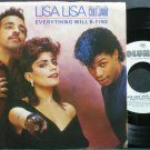 LISA LISA & CULT JAM~Everything Will B-Fine~Columbia 07737 (Free Style) Promo M- 45