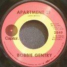 BOBBIE GENTRY~Apartment 21~Capitol 2849 VG+ 45