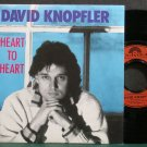 DAVID KNOPFLER~Heart to Heart~Polydor 956-7 (Indie Rock) VG++ UK 45