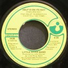 LITTLE RIVER BAND~Help is on Its Way~Harvest 4428 (Soft Rock) VG+ 45