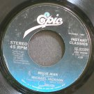 MICHAEL JACKSON~Billie Jean~EPIC 03509 (Synth-Pop) VG+ 45