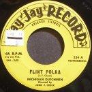 MICHIGAN DUTCHMEN~Flint Polka~Jay Jay Record 234 VG+ 45