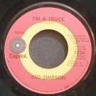 RED SIMPSON~I'm a Truck~Capitol 3236 VG+ 45
