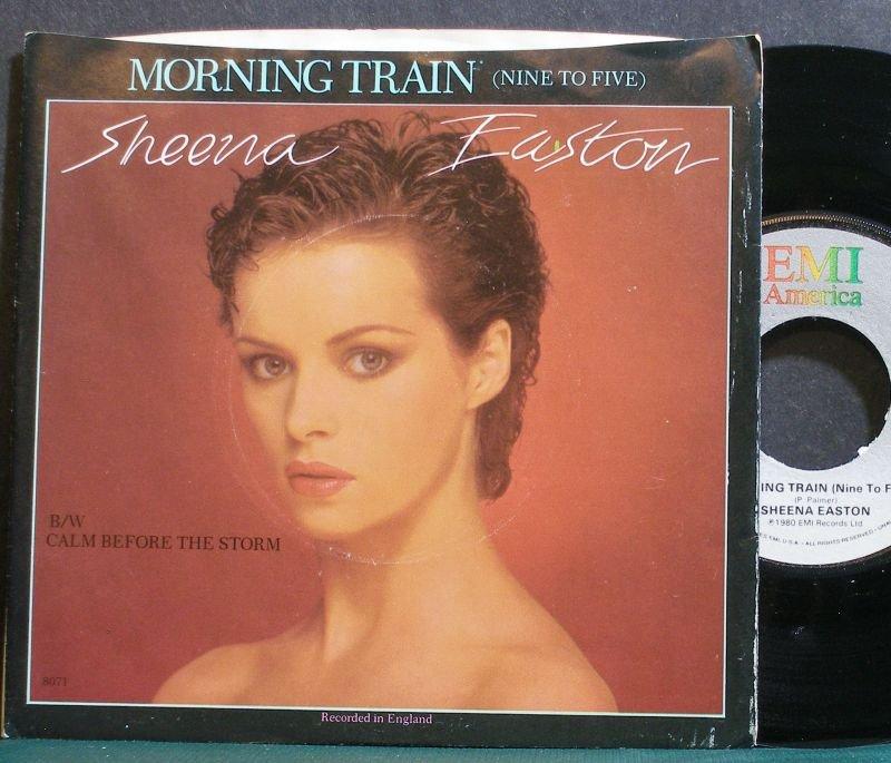 SHEENA EASTON~Morning Train (Nine to Five)~EMI America 8071 (Synth-Pop) VG+ 45
