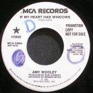 AMY WOOLEY~If My Heart Had Windows~MCA 52084 Promo VG++ 45