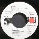 BREATHE~Jonah~A&M 2971 (Synth-Pop) Promo M- 45