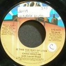 CHRIS MONTAN~Is This the Way of Love~20th Century Fox 2470 VG+ 45