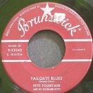 PETE FOUNTAIN~Tailgate Blues~Brunswick 55045 (Dixieland/New Orleans Jazz)  45